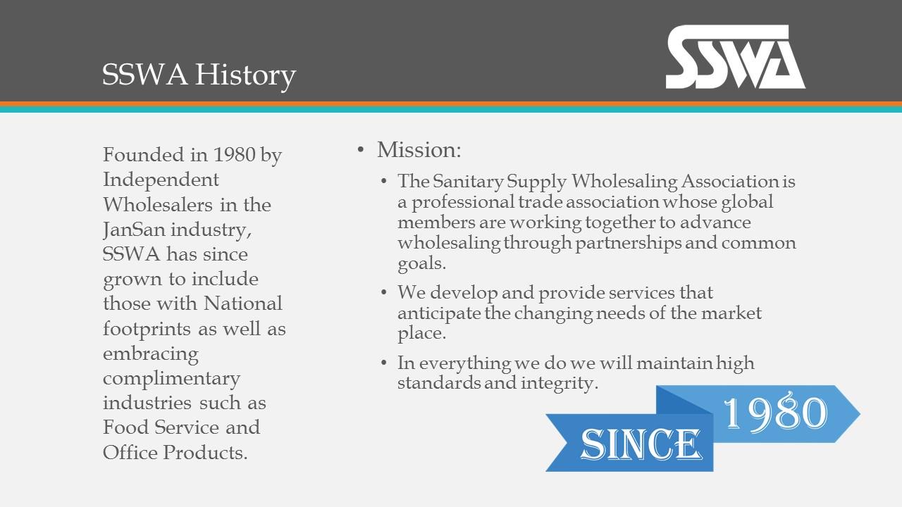 SSWA History