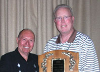 Recipient Steve Moser presented by David Brown