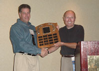Recipient David Holtzman presented by David Brown