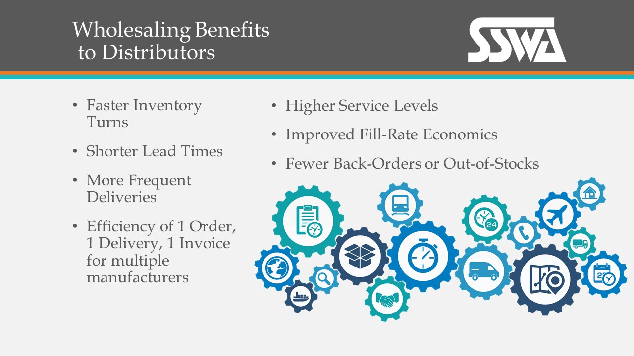 Wholesaling Benefits to Distributors